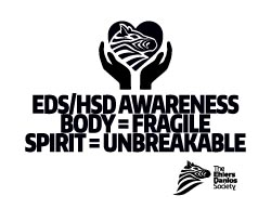EDS Awareness Sign