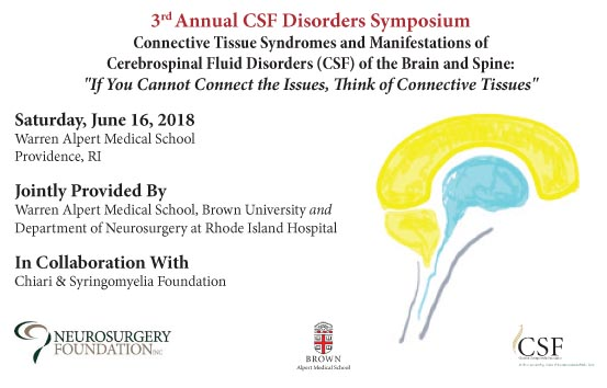 CSF Disorders Symposium 2018