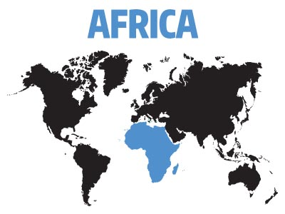 Affiliates and Support Groups in Africa