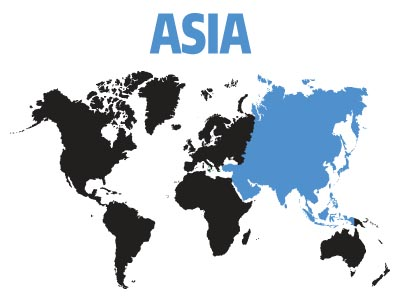 Affiliates and Support Groups in Asia
