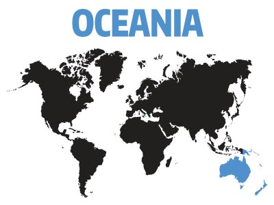 Affiliates and Support Groups in Oceania