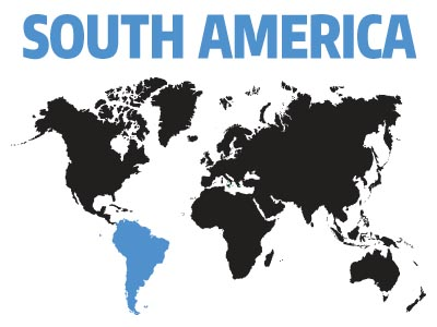 Affiliates and Support Groups in South America