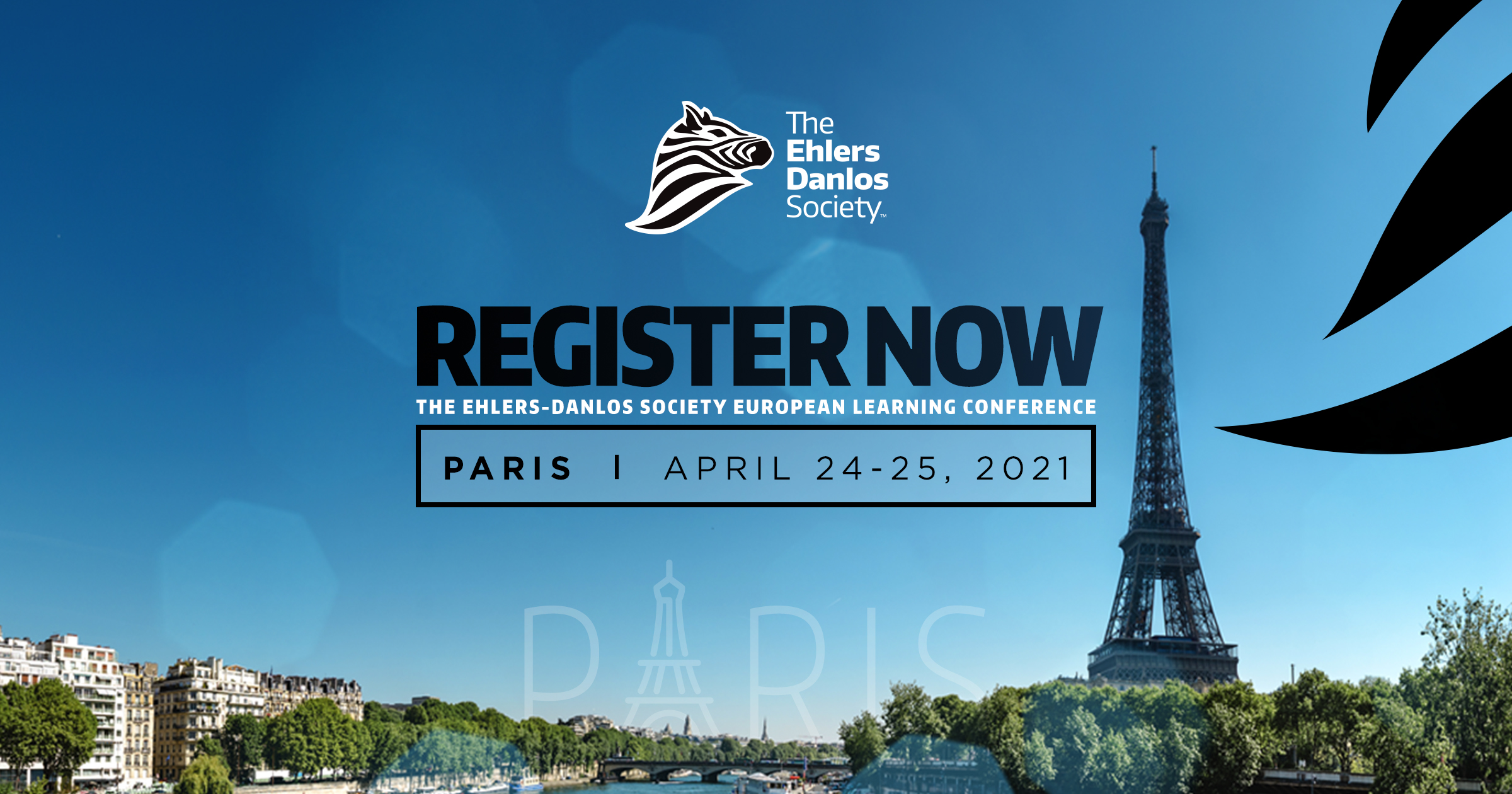 Register now for The Ehlers-Danlos Society Conference in Paris 2021