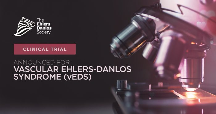 Clinical trial announced for vascular Ehlers-Danlos syndrome (vEDS).