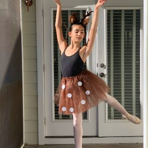 ceciley doing ballet
