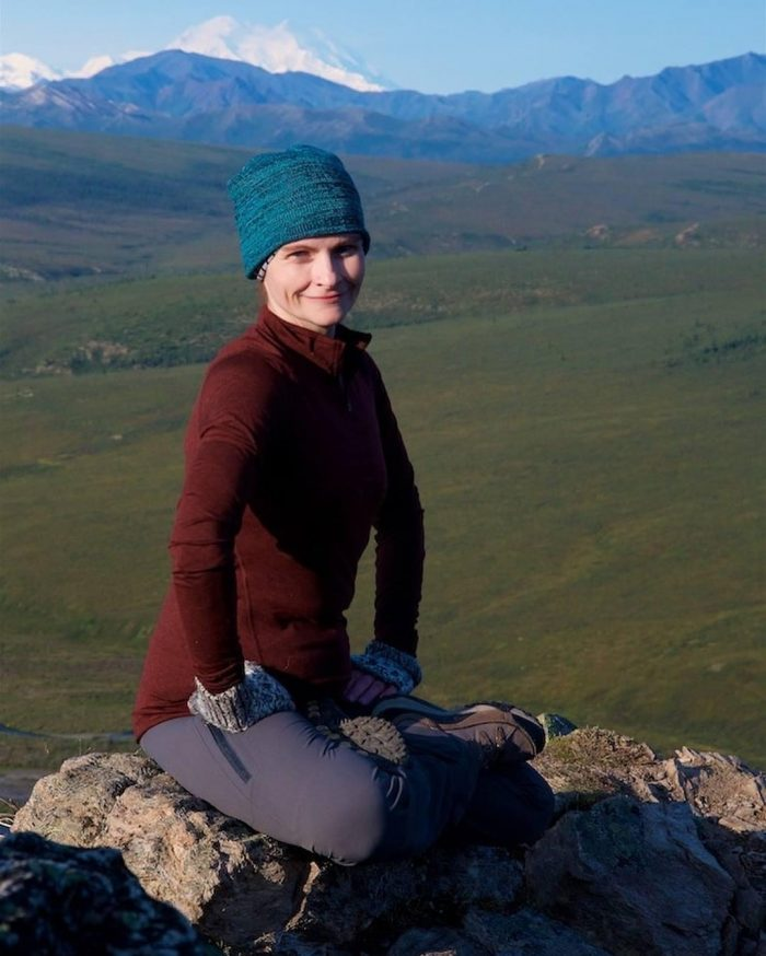 The second one is of me sitting on a peak when we had gone hiking in Denali national park. I have hope that I will be able to get out of the wheelchair and hike again one day. August 2018