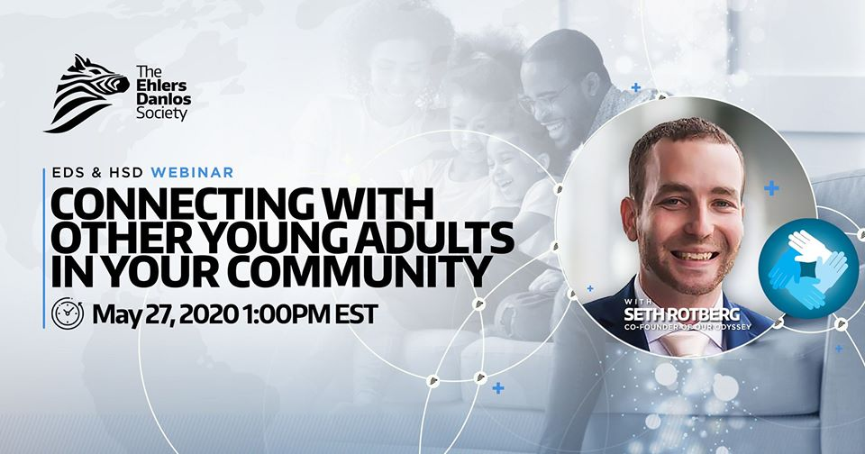 Seth Rotberg, Webinar, Connecting with Other Young Adults in Your Community
