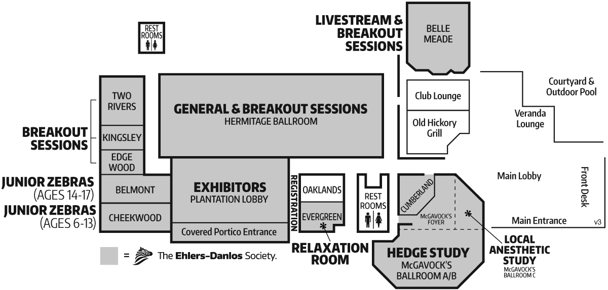 Conference site map