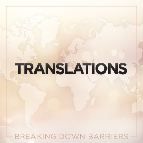 "the graphic reads ""translations"""