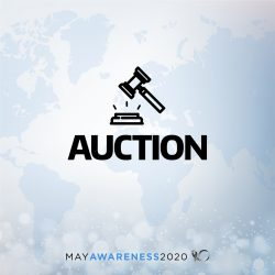 may awareness auction tile