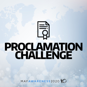 2020 May Awareness - Proclamation Challenge