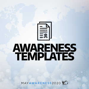 2020 May Awareness - Awareness Templates