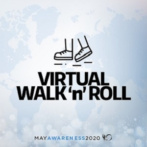 2020 May Awareness - Virtual Walk n Roll - Tile