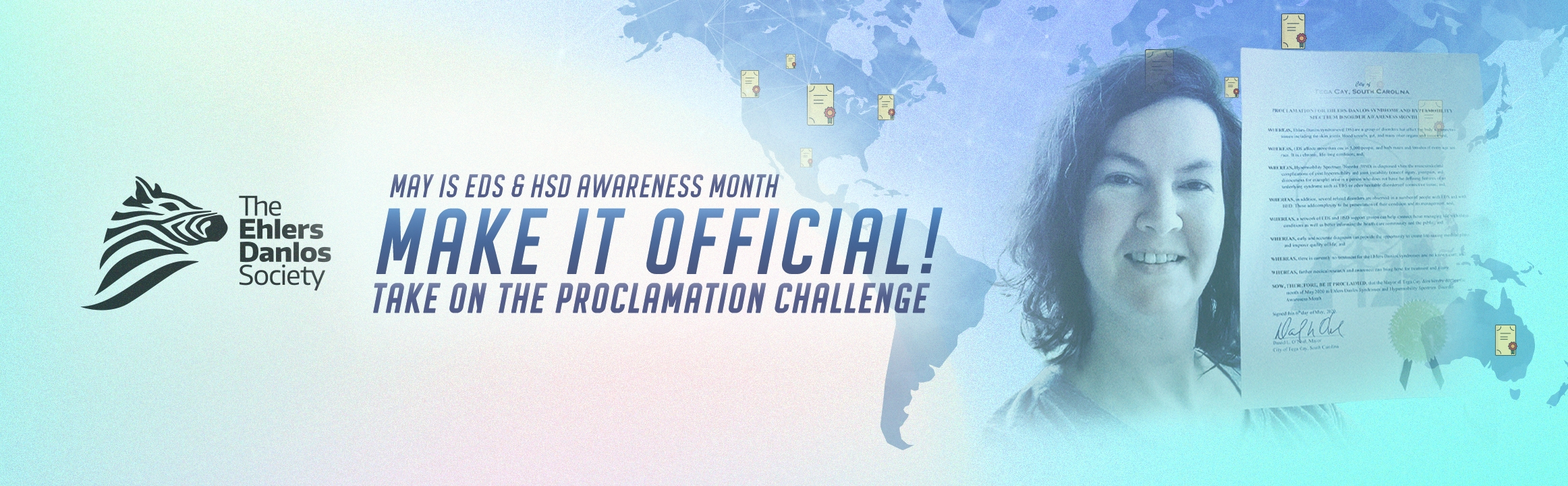 Make it official, take on the Proclamation Challenge.