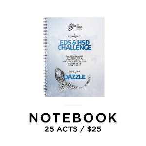 EDS Society Notebook for 25 acts of awareness