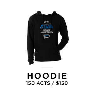 EDS Society hoodie for 150 acts of awareness