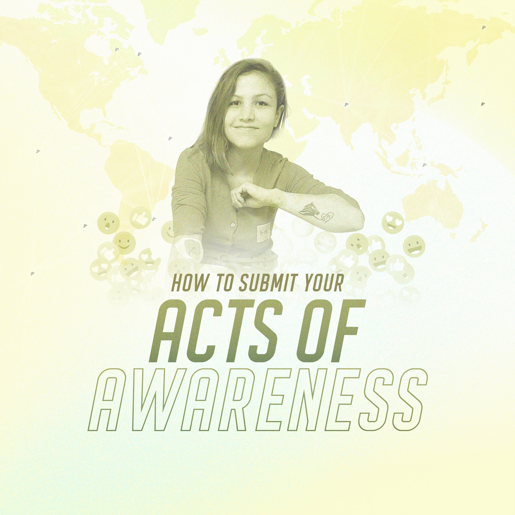 How to submit your acts of awareness